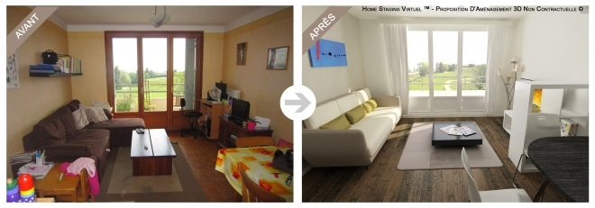 Avant / après le home staging
