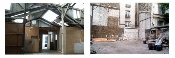 Transformation d'un local commercial en habitation
